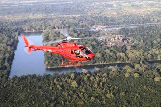 Helicopter Touring in Siem Reap