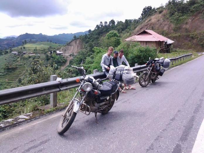 motorbiking, hue, vietnam