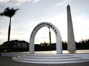Double Six Monument in Kota Kinabalu