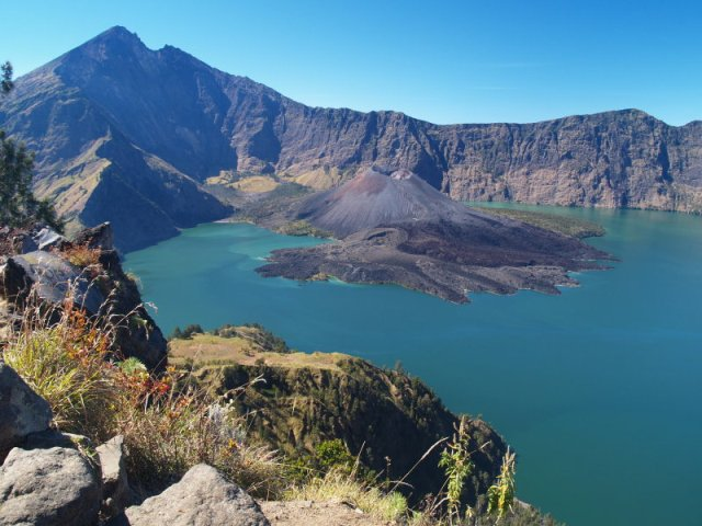 Mount Rinjani in Lombok