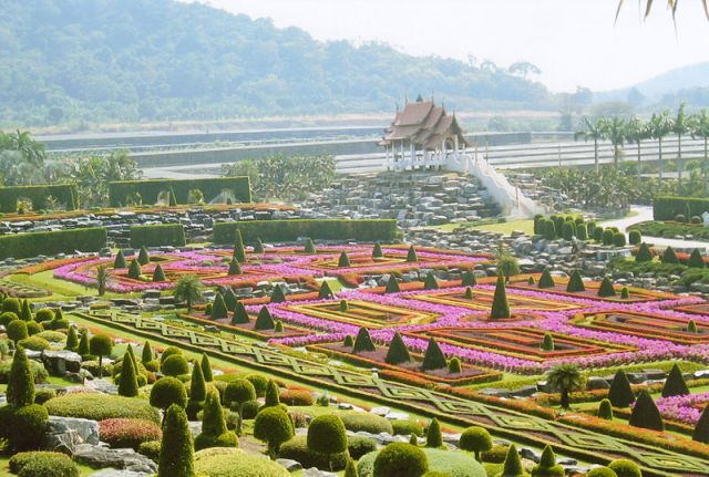 Nong Nooch Botanical Garden in Pattaya