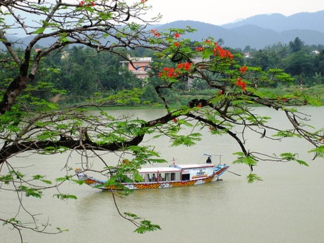 Perfume River in Hue