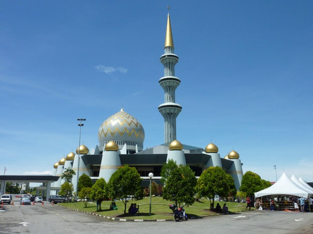 Sabah State Mosque in Kota Kinabalu