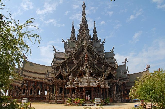 Sanctuary of Truth in Pattaya