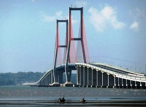 Suramadu Bridge in Surabaya