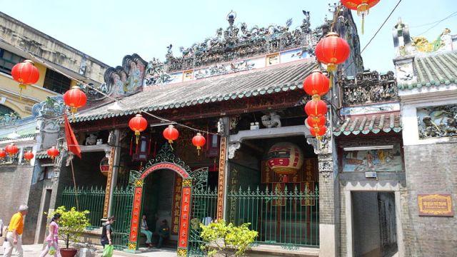 Thien Hau Pagoda in Ho Chi Minh