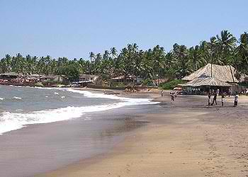 beach, goa, anjuna, india