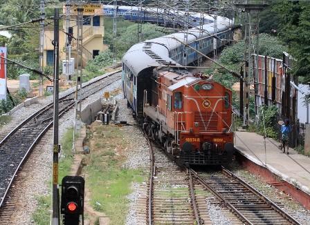 getting to chennai, train, india
