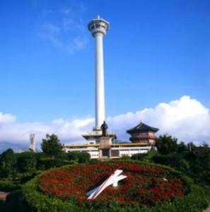 busan, tower, korea