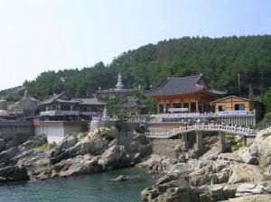 temple, korea, busan