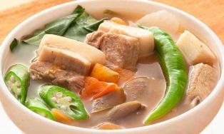 sinigang, local food, davao, philippines