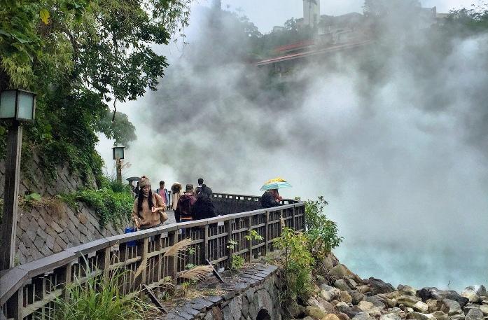taipei's geothermal valley