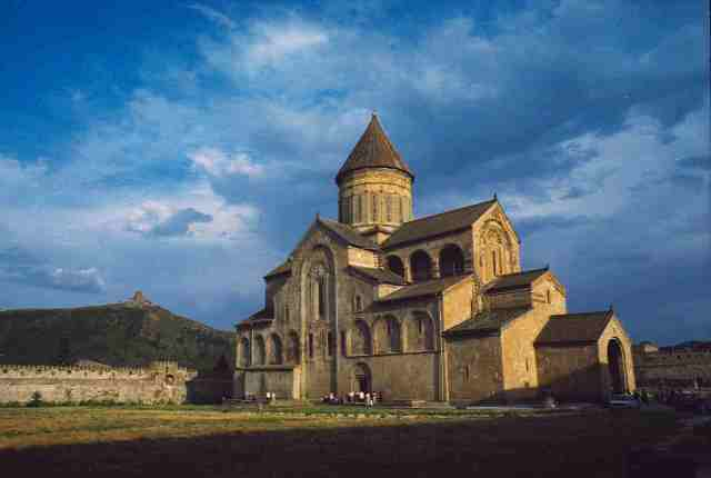 church, medival, georgia