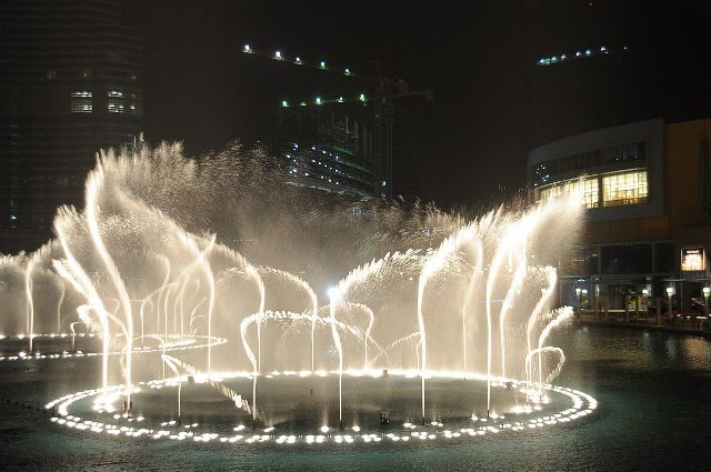 fountain, dubai, uae