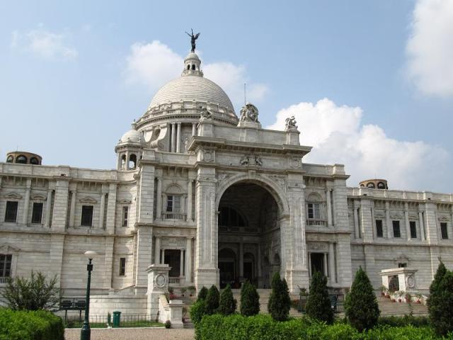 memorial building, india, calcutta