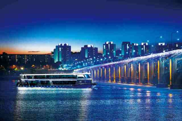 river cruise, han river, korea, incheon