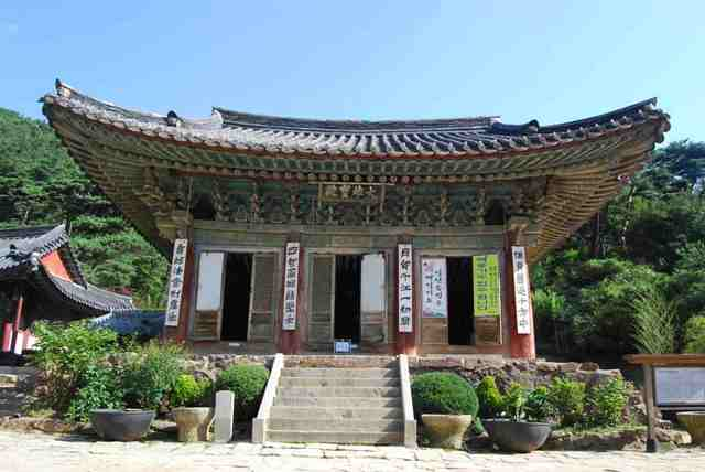 jeondeungsa, temple, korea, incheon