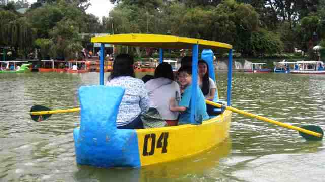 boating activity, baguio, philippines