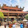 old temple, taiwan, taipei