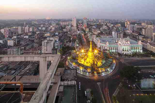 yangon, myanmar, city