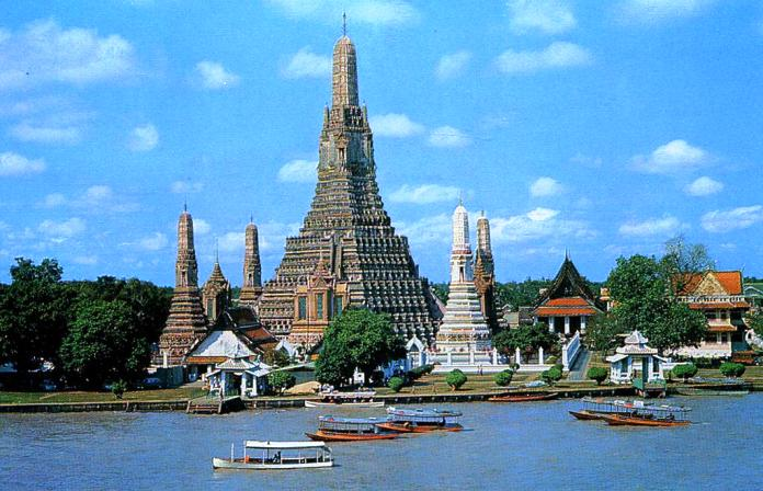 attractions, bangkok, thailand, wat arun