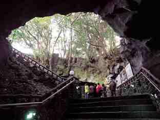entrance, cave, manjanggul, jeju-do
