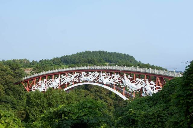 bridge, seonimgyo, jeju-do