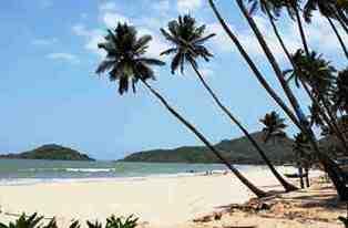 palolem, goa beach, india