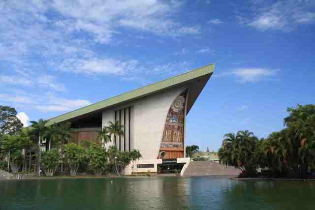 parliament house, papua new guinea