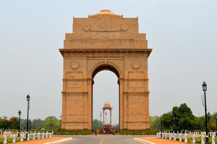 india gate, new delhi, gate