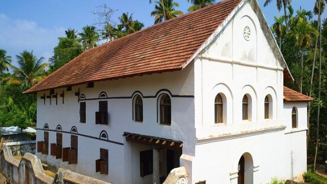 chendamangalam synagoguet, india, kochi