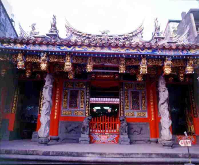 temple, fishermen temple, yilan, taiwan