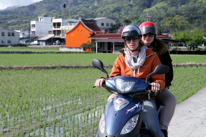 getting around hualien, taiwan