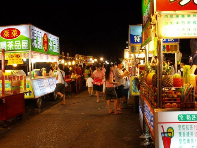 night market, taiwan, hualien