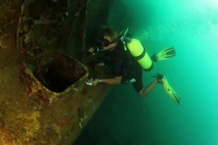 scuba diving, subic, philippines