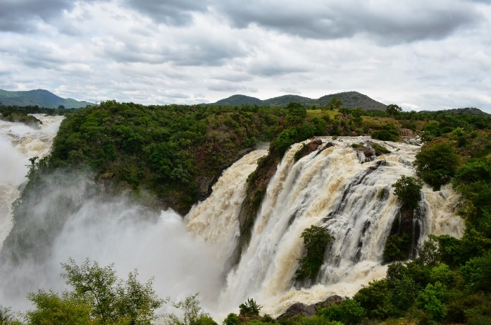 water falls, india, bangalore, shivanasamudra