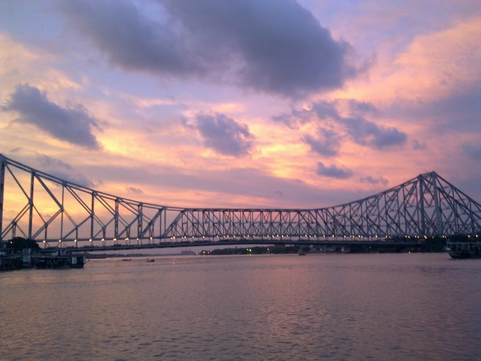 bridge, calcutta, india