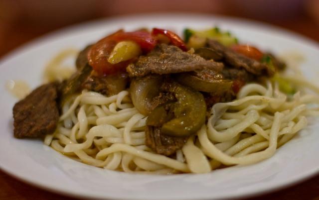 lagman soup, dish, kazakhstan