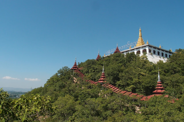 myanmar, mandalay hill, attraction