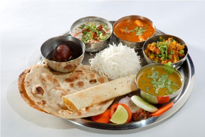 local delicacies, india, jaipur, thali