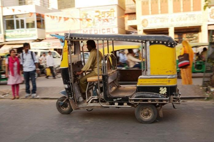 auto-rickshaws, india, jodhpur, getting around