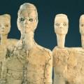amman, 'ain ghazal, statues