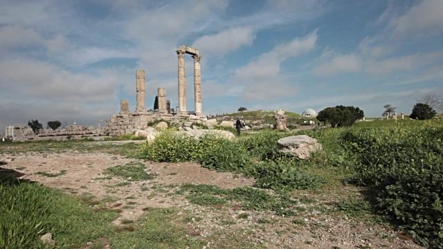 citadel hill, amman, jordan