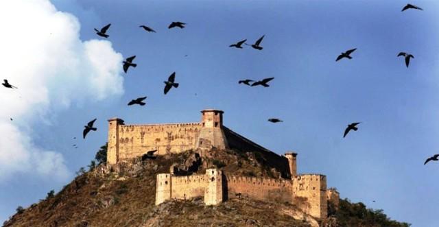 Hari Parbat Fort in Srinagar