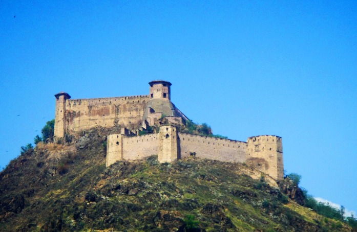 hari parbat, fort, india, srinagar