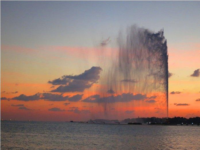 kings fountain, jeddah, saudi