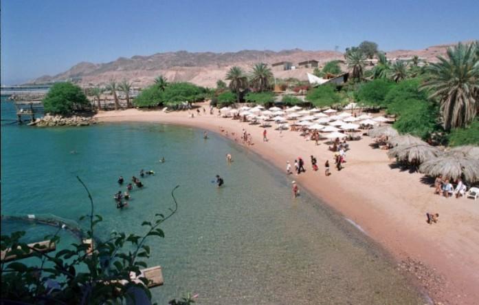 beach, reef, eilat, jerusalem