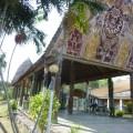 museum, papua new guinea, entrance walkway to main museum
