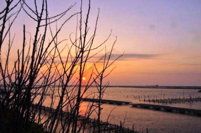 southwest coast, scenic area, chiayi, taiwan