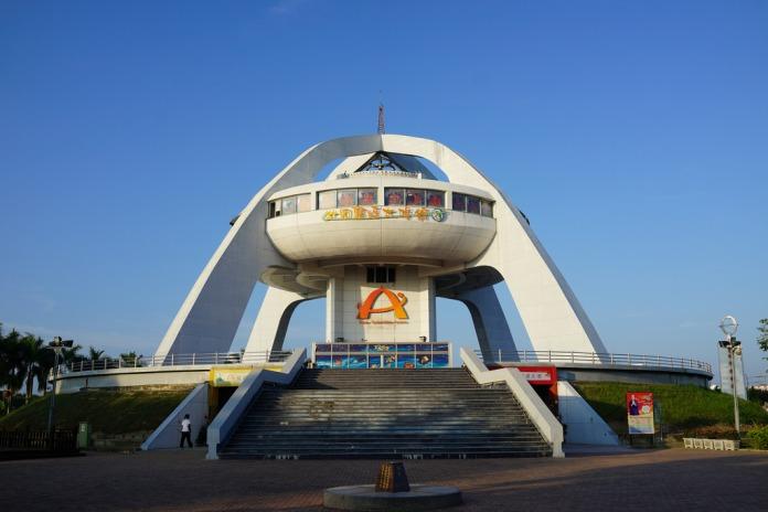 tropic of cancer landmark, chiayi, taiwan